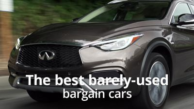 The best barely-used bargain cars