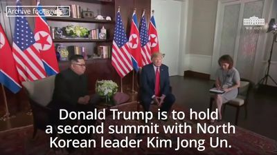 President Trump to hold a second summit with the leader of North Korea