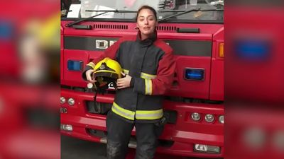 'Firefighting Sexism': Four-year-old inspires global firewomen campaign