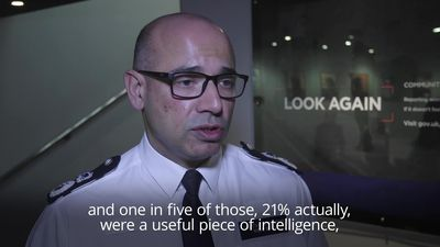 Counter-terror chief: One in five public reports helps foil terror attacks