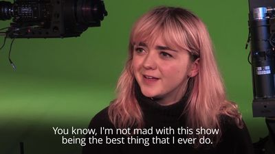 Maisie Williams not afraid if Game Of Thrones is 'as good as it gets'