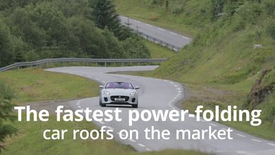The fastest power-folding car roofs on the market