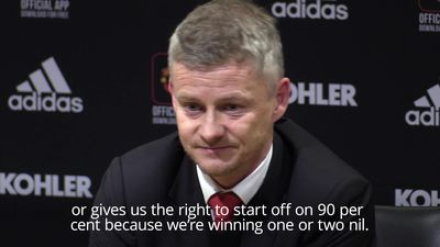 Solskjaer upbeat after Manchester United honeymoon nearly ended