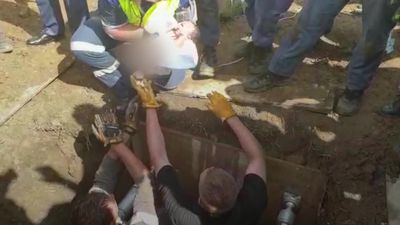 Newborn baby girl pulled out of South African storm drain