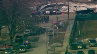 One dead and police officers wounded in US industrial park shooting