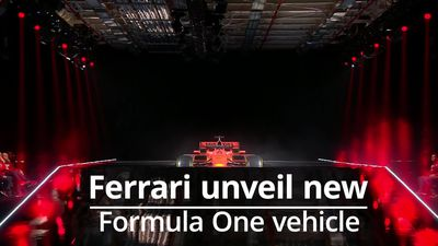 Ferrari unveil new SF90 F1 vehicle