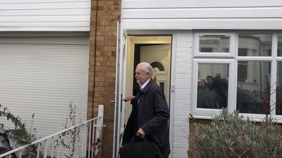 Jeremy Corbyn leaves home amid rumours of Labour Party split