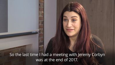 Luciana Berger: 'The last time I had a meeting with Jeremy Corbyn was at the end of 2017'
