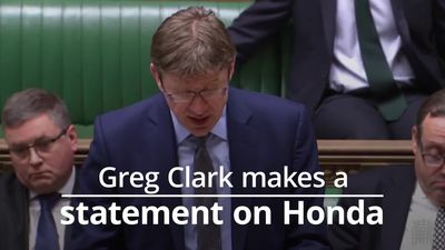 Business Secretary Greg Clark on Honda's decision to close plant