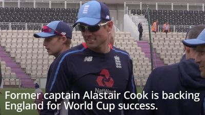 Alastair Cook backs England to win the cricket World Cup