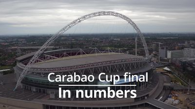 Carabao Cup final in numbers