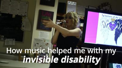 Girl with 'invisible disability' using her love of music to raise awareness