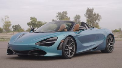 This is the new McLaren 720S Spider