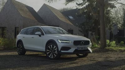 This is the Volvo V60 Cross Country