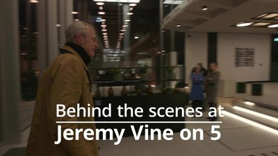 Behind the scenes at Jeremy Vine On 5