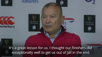 Eddie Jones frustrated by England's mental lapses