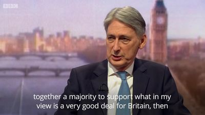 Chancellor: It's physically impossible to leave EU on March 29