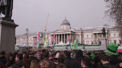 St Patrick's Day fun in London and Dublin