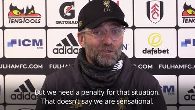 Klopp says 'nothing is decided' after Liverpool's victory at Fulham sends them top