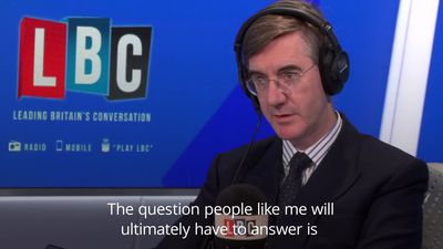 Jacob Rees-Mogg: A bad deal is better than remaining in the EU