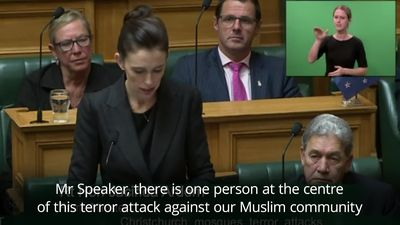New Zealand PM vows never to say gunman's name