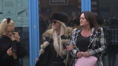 Katie Price denies charges of shouting abuse at school