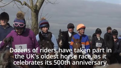 England's oldest horse race under starter's orders to mark 500th anniversary