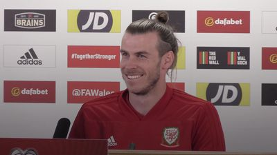 Journalist starstruck by Gareth Bale