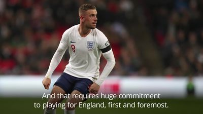 England boss Southgate hails Henderson as midfielder reaches milestone
