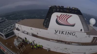 Passenger rescued from stranded cruise ship Viking Sky
