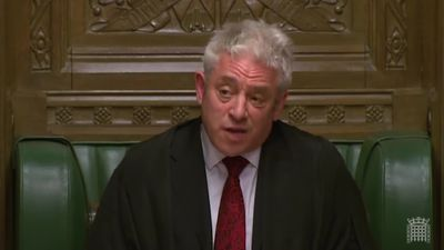 Speaker invokes fury in Commons with jibe at Conservative MP
