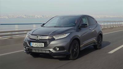 This is the Honda HR-V Sport