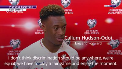 Callum Hudson-Odoi: Racism in football is unacceptable