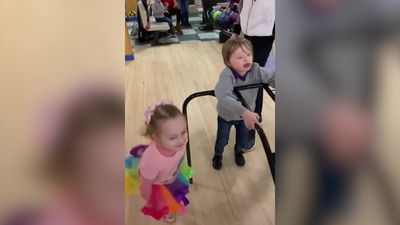 Sister takes on young carer role for Down's Syndrome twins