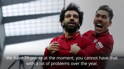 Jurgen Klopp: Mohamed Salah's goalscoring drought is no problem