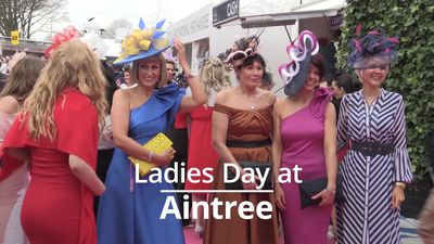 Aintree turns on the style for Ladies Day