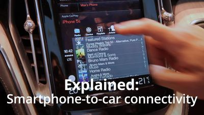 Explained: In-car smartphone connectivity