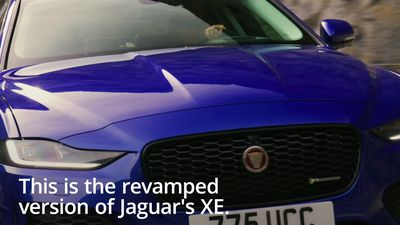 Take a look at the updated Jaguar XE