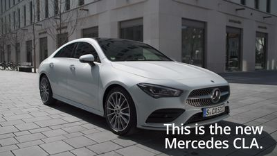 This is the new Mercedes CLA