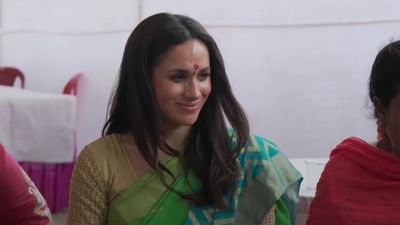 Meghan's Indian charity visit featured in new video