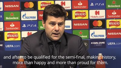 Pochettino hails Tottenham heroes after thrilling win over Man City