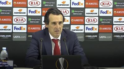 Unai Emery 'proud' of Arsenal players after win against Napoli
