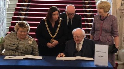Michael D Higgins: Journalist's death was 'an attack on truth itself'