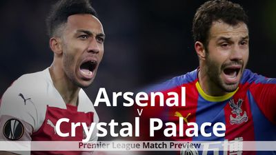 Premier League match preview: Arsenal v Crystal Palace
