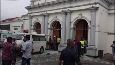 More than 100 killed in Sri Lanka explosions