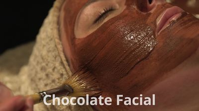 Easter pampering: Chocolate facial