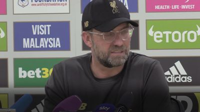 Jurgen Klopp critical of Cardiff pitch after Liverpool reclaim top spot