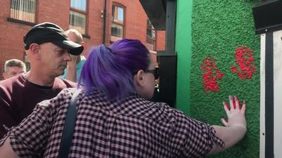 Friends of murdered journalist deface office of dissident republican group