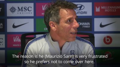 Gianfranco Zola: Sarri was offended by Burnley comments