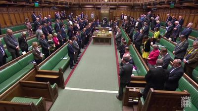 House of Commons holds a minute's silence for Sri Lanka attack victims